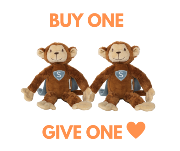 Buy one, give one Superaapje